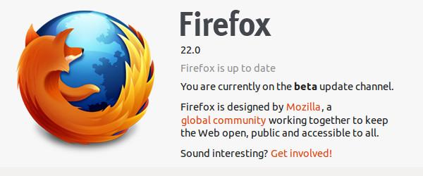 Firefox 22 beta 2 - jodlajodla.si