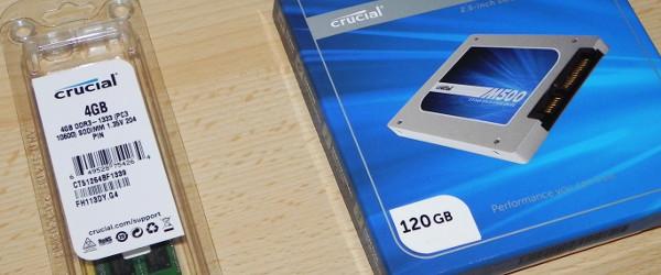 Acer Aspire One 725 nadgradnja RAM in SSD - jodlajodla.si