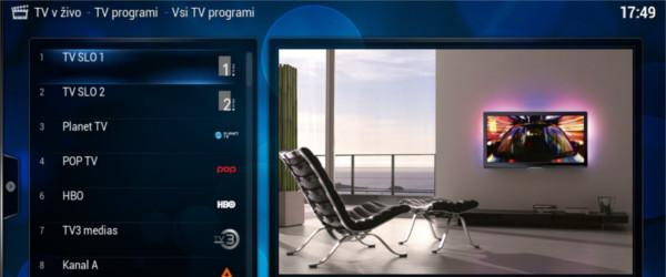 TVHeadEnd programi na OpenELEC - jodlajodla.si