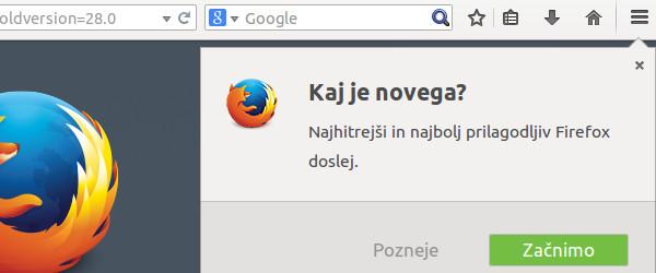Mozilla Firefox 29 - jodlajodla.si